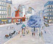 Moulin Rouge - 20459 - Le Moulin Rouge, boulevard de Clichy