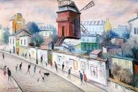 Le Moulin de la Galette - 20691 - Montmartre, le Moulin de la Galette