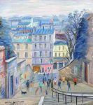 Montmartre - 20224 - Rue du Calvaire à Montmartre