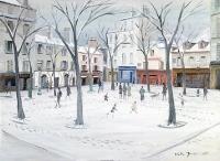 Montmartre - 20255 - Mairie du Vieux Montmartre