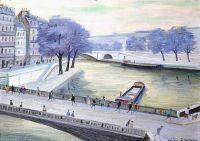 La Seine - 20223 - La Seine au Pont de la Tournelle au printemps