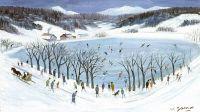 Neige - 20207 - Le lac gelé