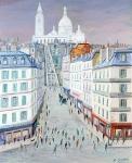 Sacré-Coeur - 20686 - Le Sacré-Coeur et la rue Maller
