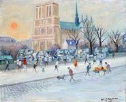 Notre-Dame - 20235 - Notre Dame aux bouquinistes