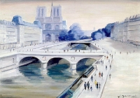 Notre-Dame - 20303 - Notre Dame au printemps