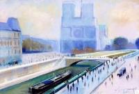Notre-Dame - 20382 - Notre-Dame au quai St-Michel
